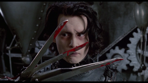 edward scissorhands blood