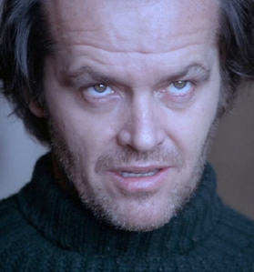 Jack Crazy in The Shining